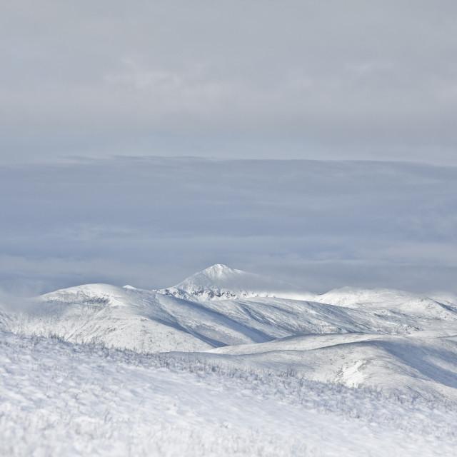 """""""snow mountain"""" stock image"""