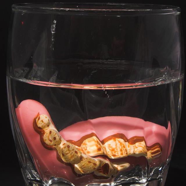 """False Teeth"" stock image"