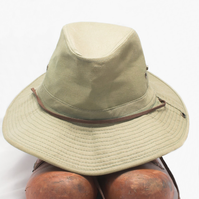 """Safari Hat and Boots"" stock image"