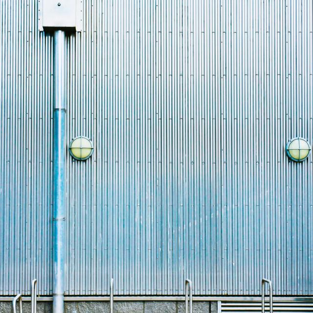 """""""Metal wall"""" stock image"""