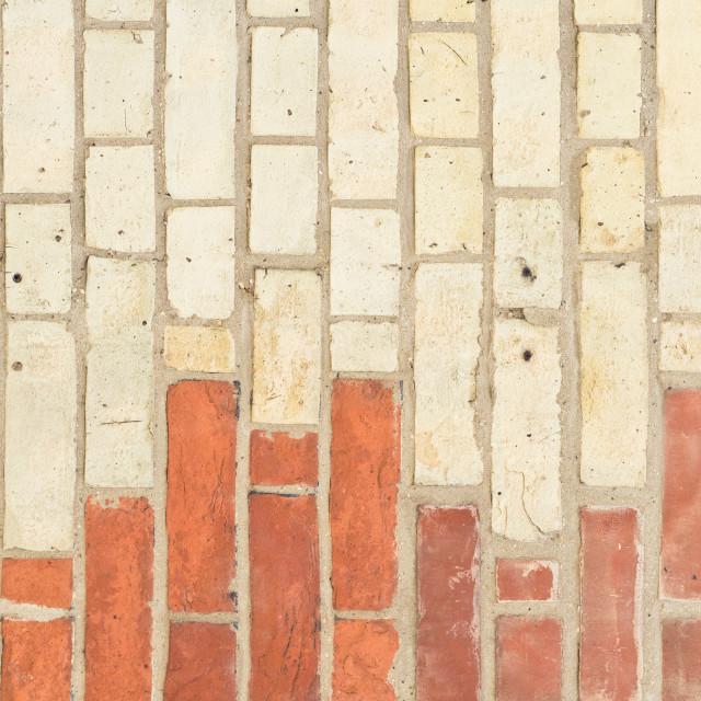 """Brick wall"" stock image"