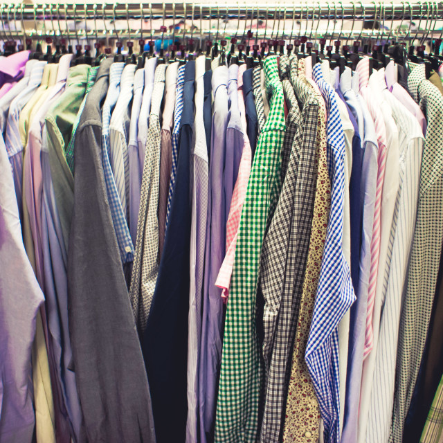 """Shirts"" stock image"