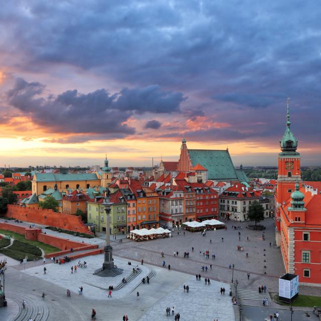 """""""Warsaw"""" stock image"""