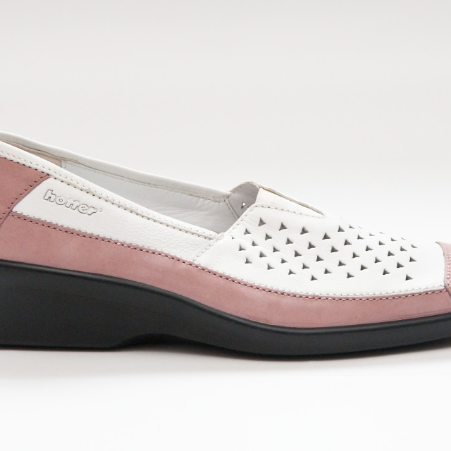 """""""White and Pink Shoe"""" stock image"""