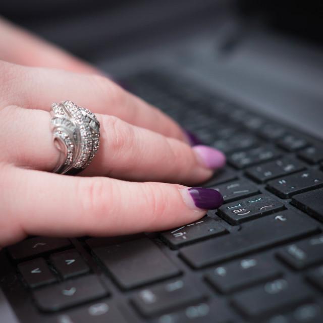 """My keyboard"" stock image"