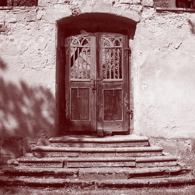 """""""Mysterious door"""" stock image"""