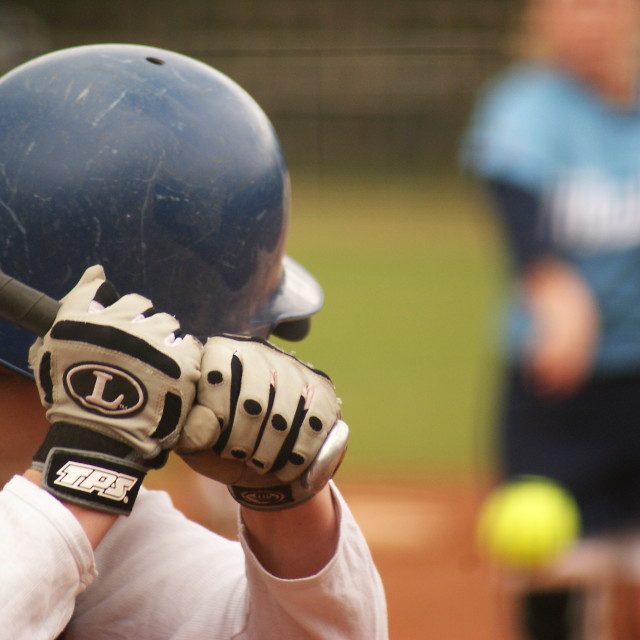 """Softball"" stock image"