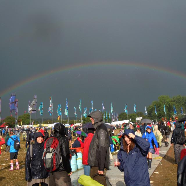"""Festival Rainbow"" stock image"
