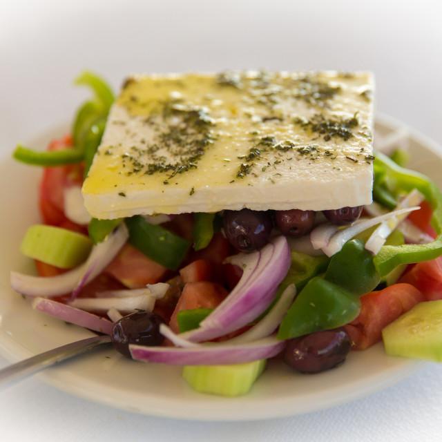 """Greek Salad"" stock image"