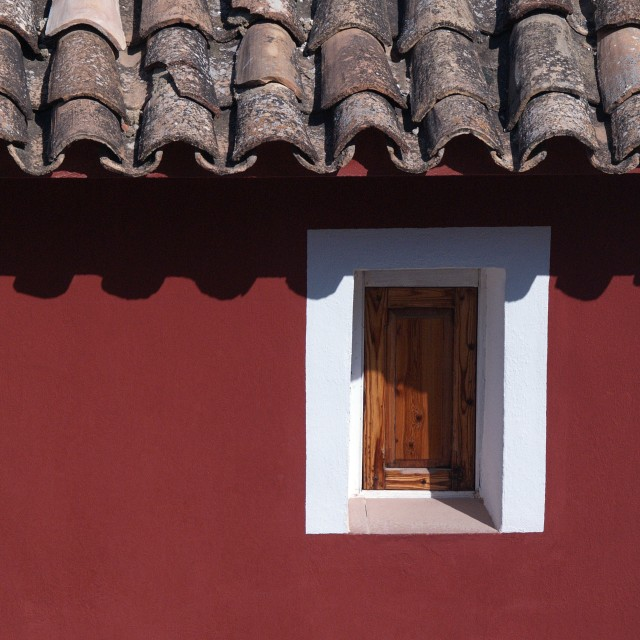 """""""Old Red House"""" stock image"""