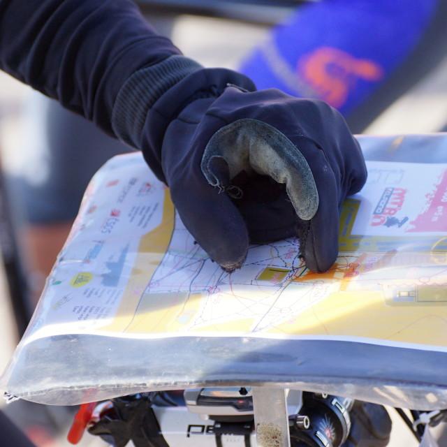 """""""Cycle race 4"""" stock image"""