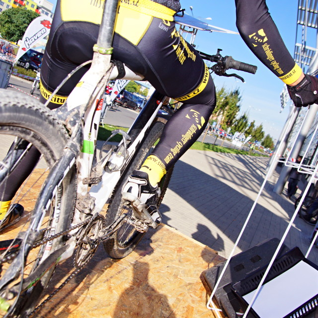 """""""Cycle race 5"""" stock image"""