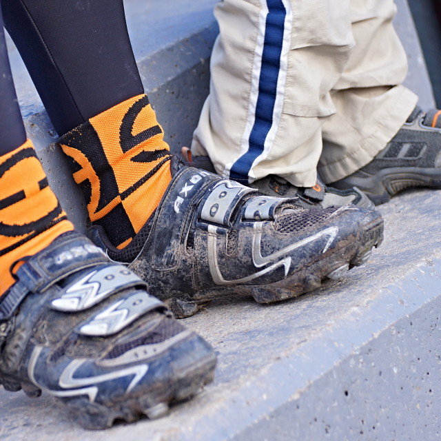 """""""Cycle race 7"""" stock image"""