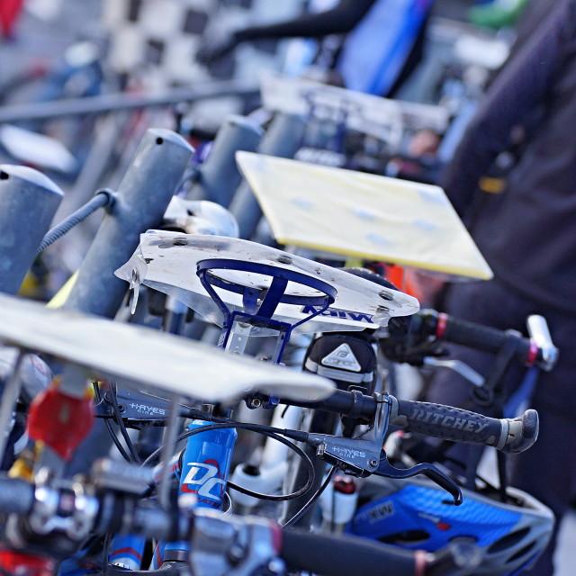 """""""Cycle race 6"""" stock image"""