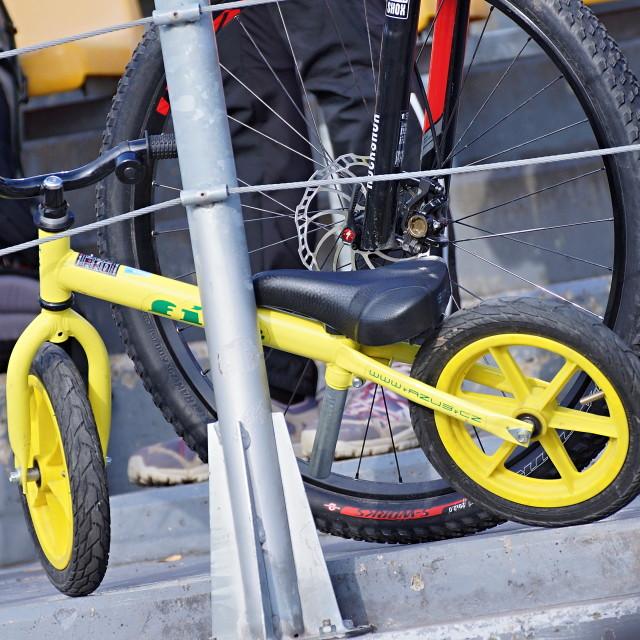 """""""Cycle race 8"""" stock image"""