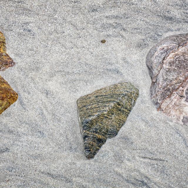 """Coloured Rocks"" stock image"