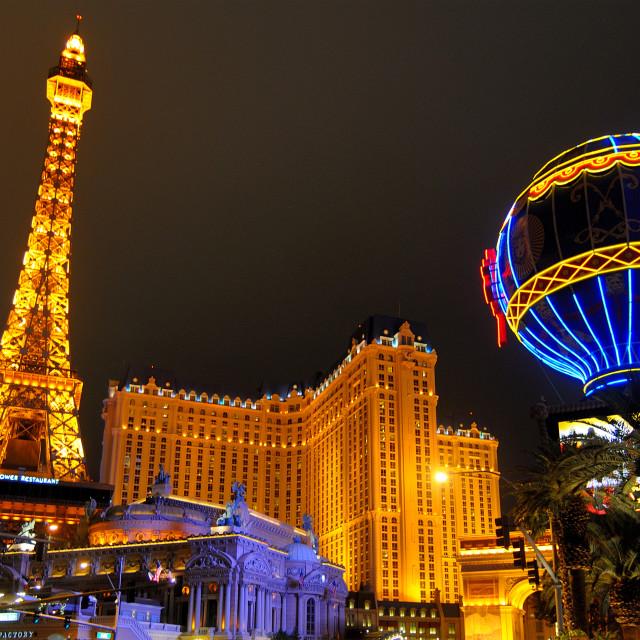"""""""Paris Las Vegas"""" stock image"""