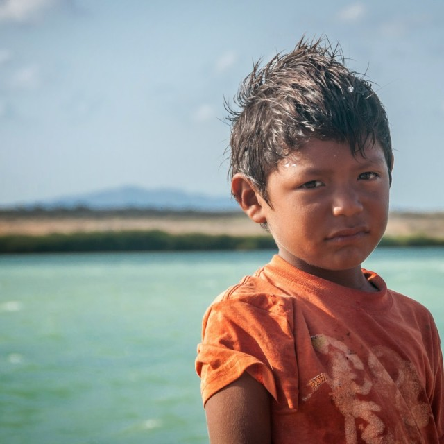 """Boy in Colombia"" stock image"