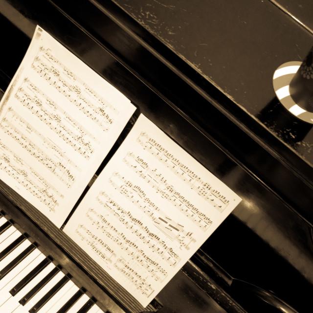 """Piano"" stock image"