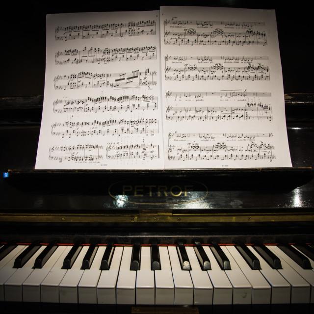 """Piano 2"" stock image"
