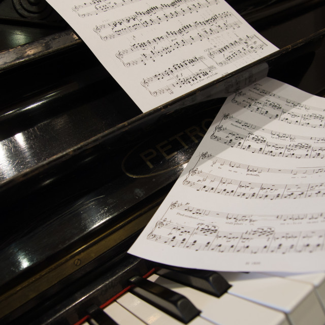 """Piano bar"" stock image"