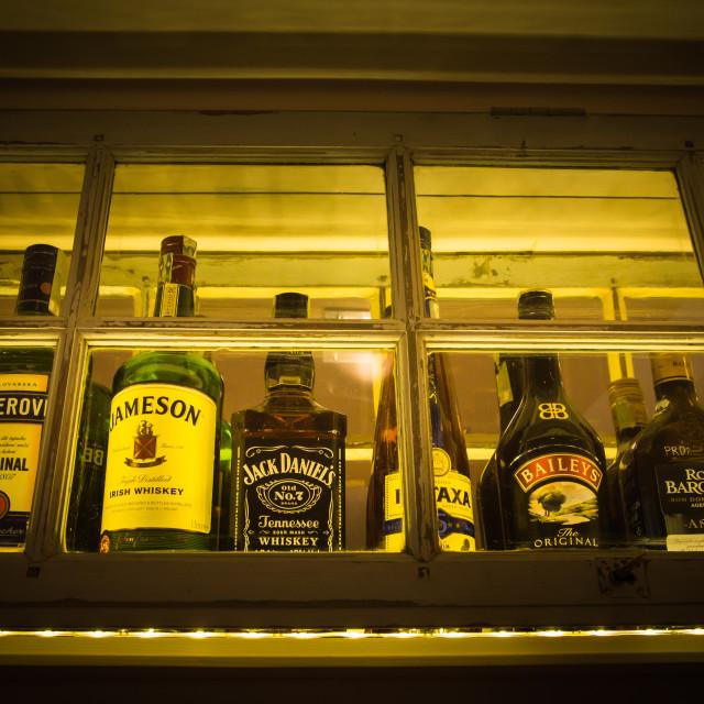 """Great bottles"" stock image"