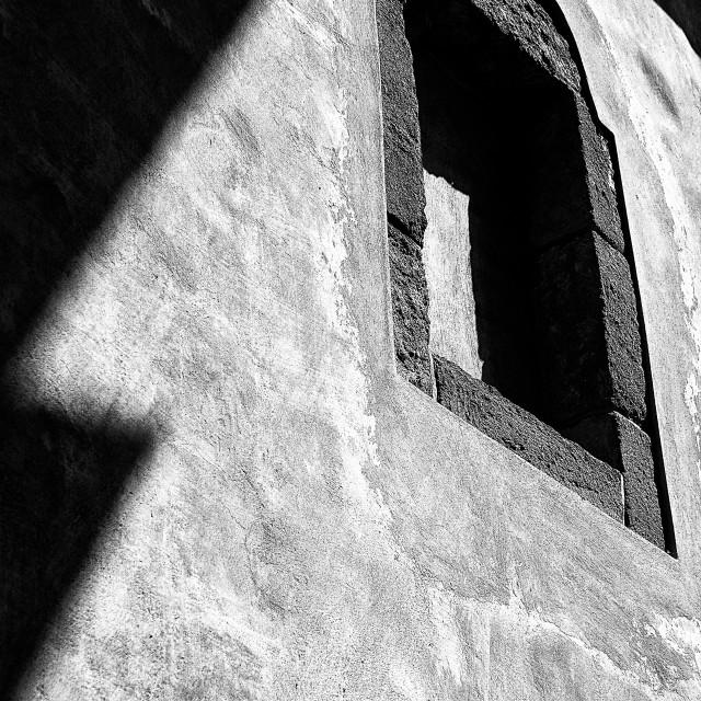 """Window to the chapel"" stock image"
