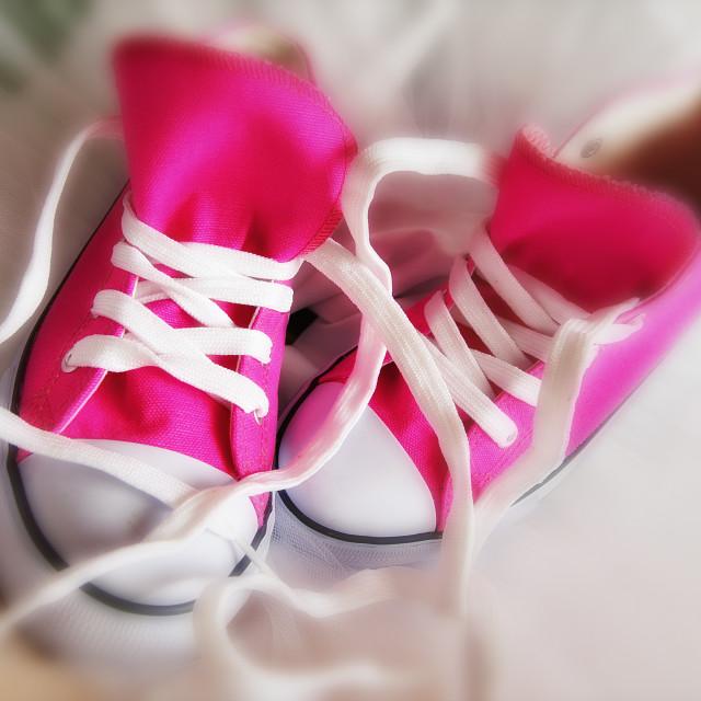"""Sneakers"" stock image"