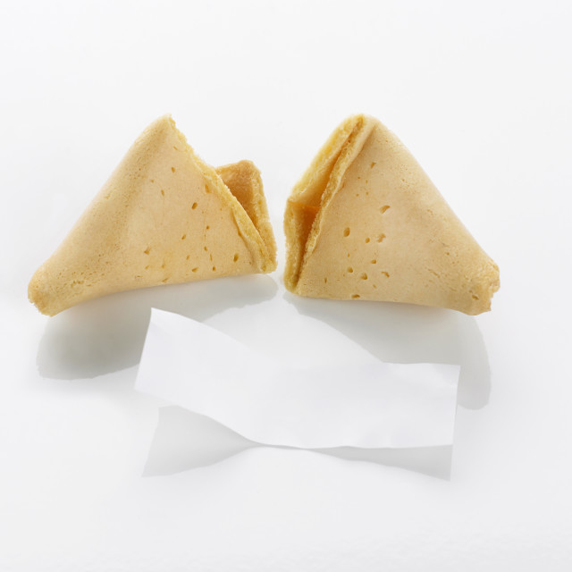 """""""Fortune Cookie"""" stock image"""