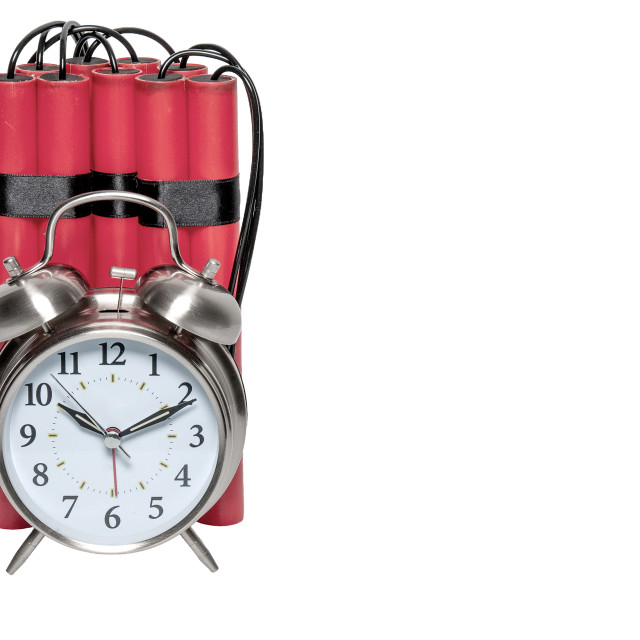 """Time Bomb"" stock image"