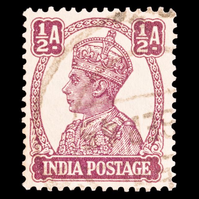 """King George VI 1940"" stock image"