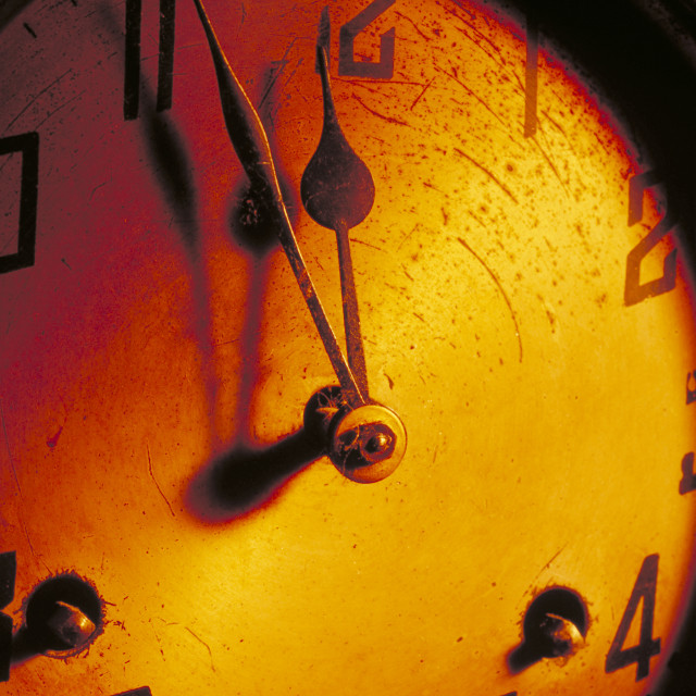 """""""Eleventh Hour"""" stock image"""