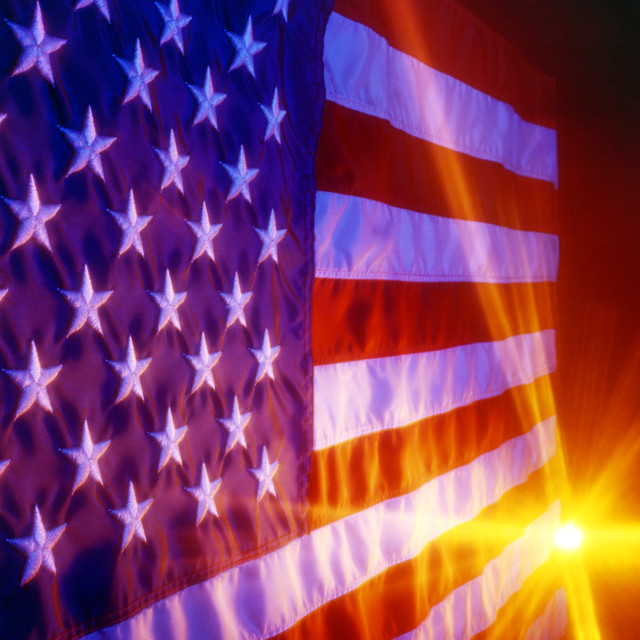 """U.S. Flag"" stock image"