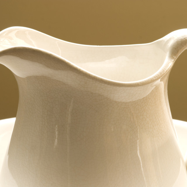 """""""pitcher; pitchers; container; bowl, bowls;"""" stock image"""