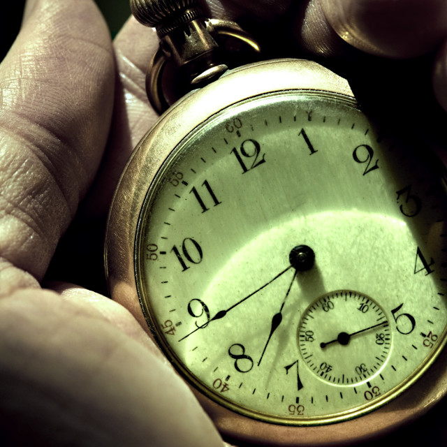 """Pocket Watch"" stock image"