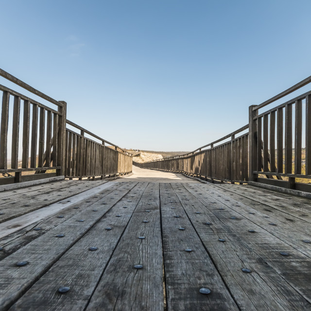 """wooden bridge"" stock image"