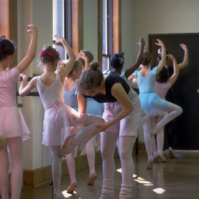 """Ballet Class"" stock image"