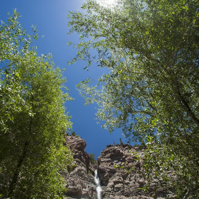 """Cascade Falls"" stock image"