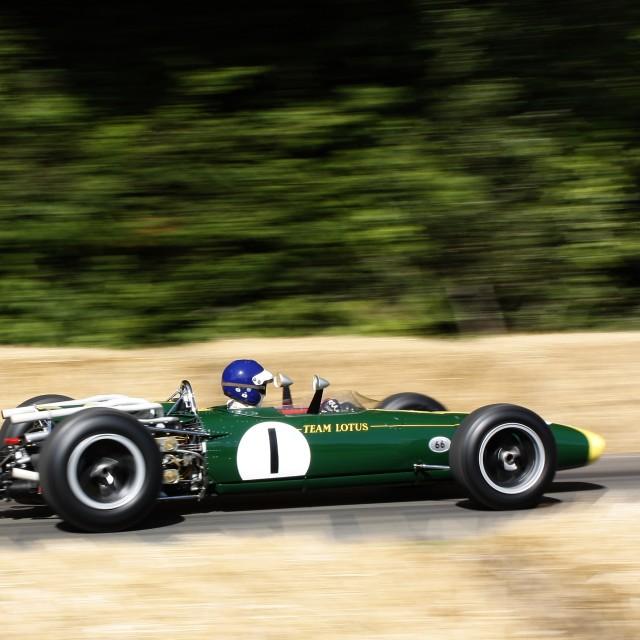 """Lotus F1 Car"" stock image"