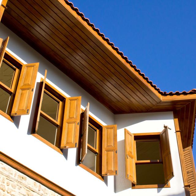 """""""Ottoman houses"""" stock image"""