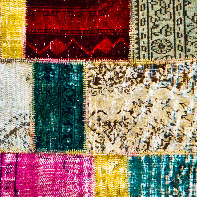 """Colorful textile"" stock image"