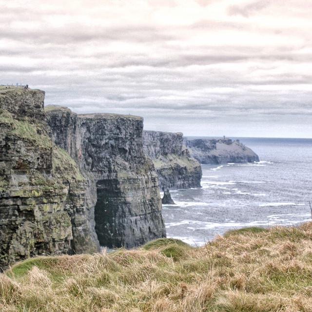 """Bay, Southern Ireland"" stock image"