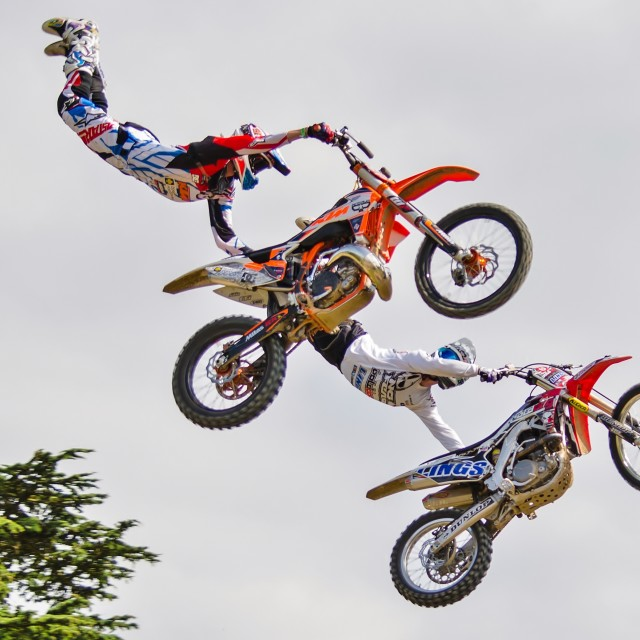 """Red Bull X Fighters"" stock image"