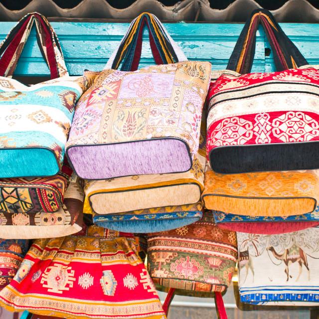 """Turkish handbags"" stock image"