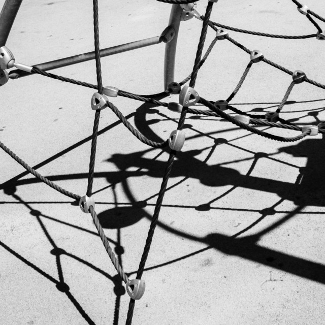 """""""Spider web shadow"""" stock image"""