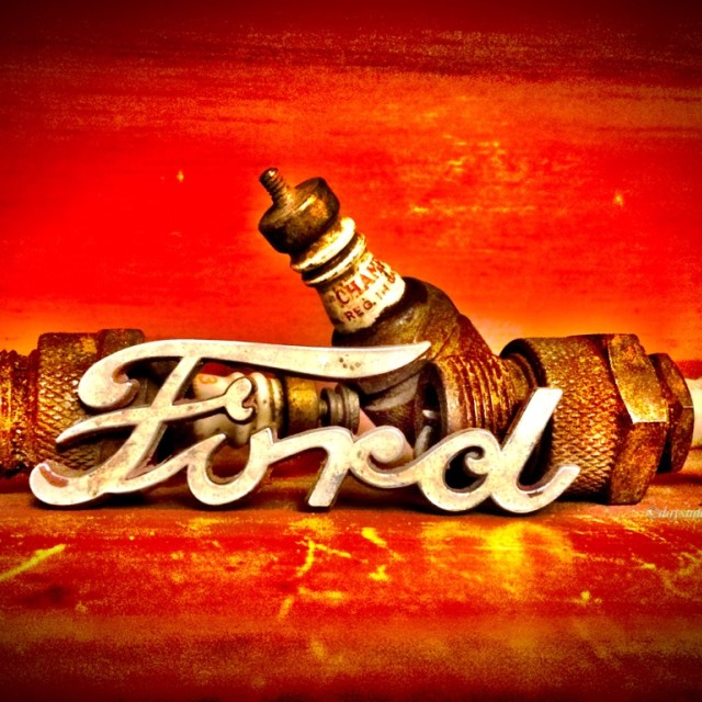 """Old Ford"" stock image"