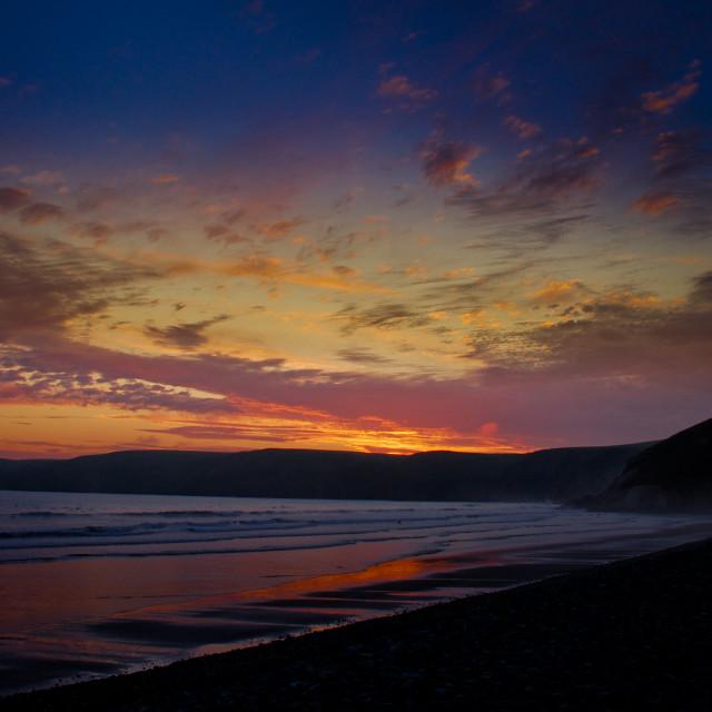 """Vivid Sunset"" stock image"