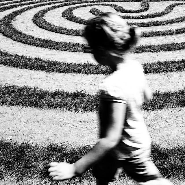 """Maze"" stock image"