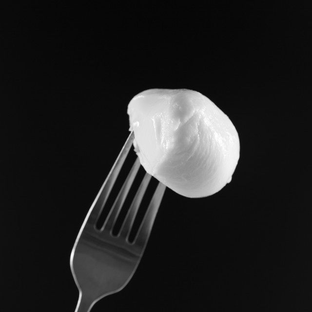 """""""delicious mozzarella"""" stock image"""