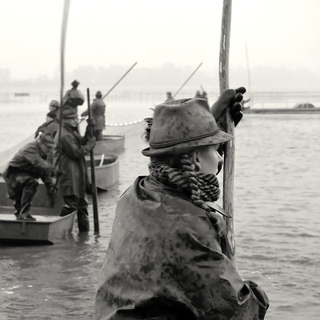 """""""Fishing Out 17"""" stock image"""